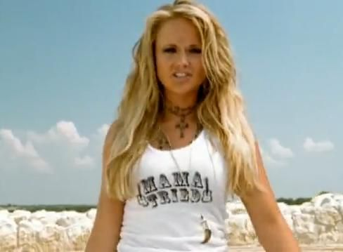 Miranda Lambert....she's too cute. And she stands up for what she belives in. :)