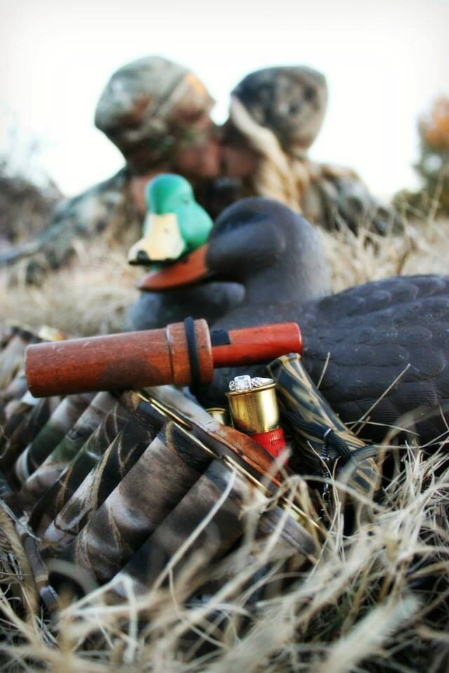 Do something similar to this but for Duck Hunting maternity photos with the babies due date written on a duck with chock