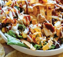 BBQ Chicken Salad | Simple Dish | Quick, Easy, & Healthy Recipes for Dinner