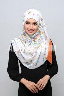 BUTTERFLY Square hijab