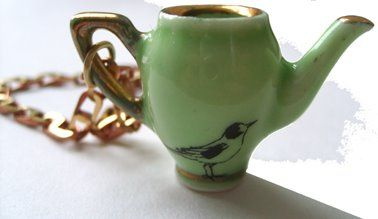 Teacup charm!