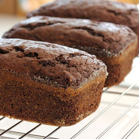 Double Chocolate Quick Bread with Cream Cheese and Peanut Butter ...