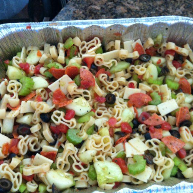 Bacholerette Party Pasta Salad @Jenn L Mase @Michelle Flynn Rago