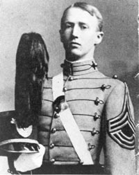 Patton at West Point.