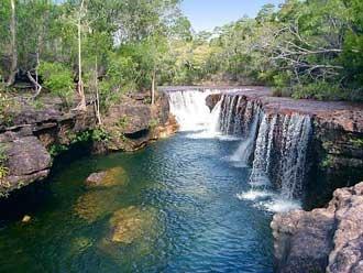 Elliott Falls, Cape York, Queensland, Australia