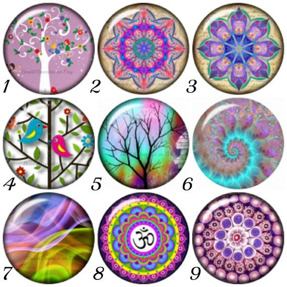 Noosa style snap buttons will fit also Ginger Snaps Bracelets. Pick any Chunk Charms 4.29 each