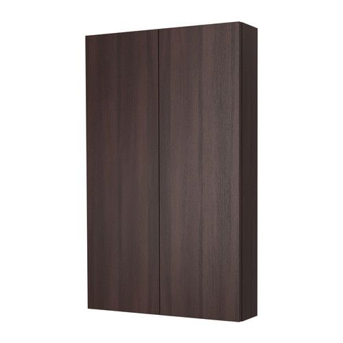 shallow wall cabinet gives you an immediate overview of your bathroom