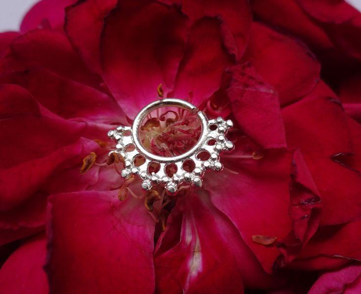 Septum Horseshoe,Fake Piercing,Real Septum Ring,Septum Jewelry,Clicker Septum22g #BodyJewelry