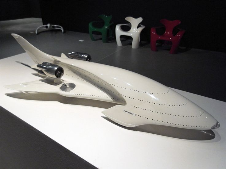 the first retrospective exhibition of the works conceived by luigi colani, german-born swiss-italian artist, industrial designer, and aerodynamicist are currently on display at the triennale bovisa in milan, italy.