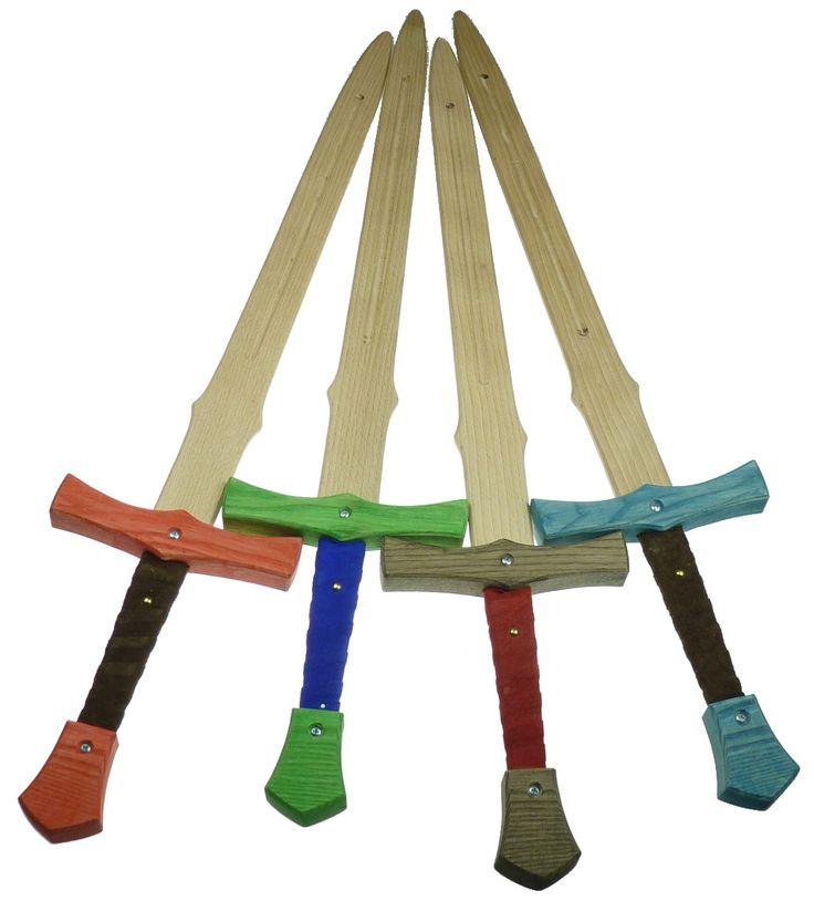 Hruting+-+obouruční+meč+100+cm+Meč+bájného+bojovníka+Beowulfa.+Bukové+dřevo,+pravá+kůže,+délka+100+cm.+Pevný+a+stabilní.+Samozřejmě+vyvážený.+barvy+záštity:+modrá,+zelená,+černá,+červená,+Barvu+upřesněte,+prosím,+při+objednání.