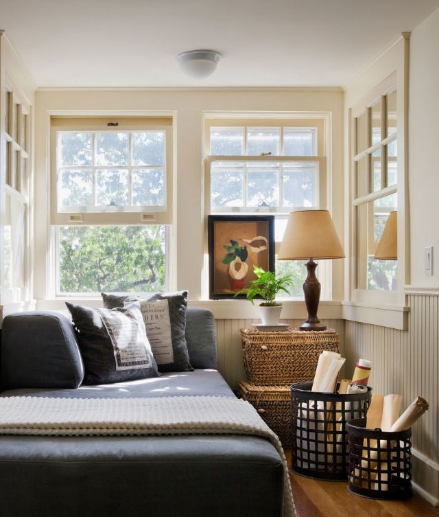 Reading Nook Or Small Guest Room    60 Unbelievably Inspiring Small Bedroom  Design Ideas