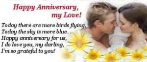 Happy anniversary picture quotes