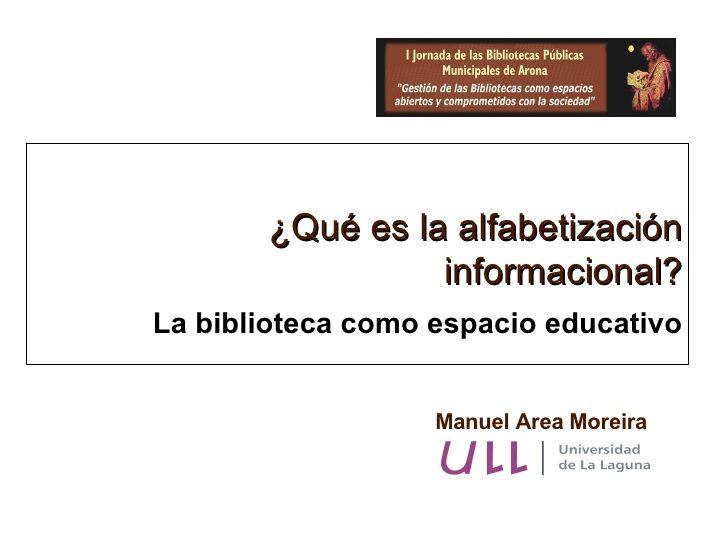 Alfabetizacion Informacional Bibliotecas