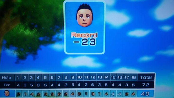 23 under par in disc golf! Wii sports resort. | gaming ...