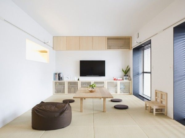 現代的な床座の暮らしができる間取り