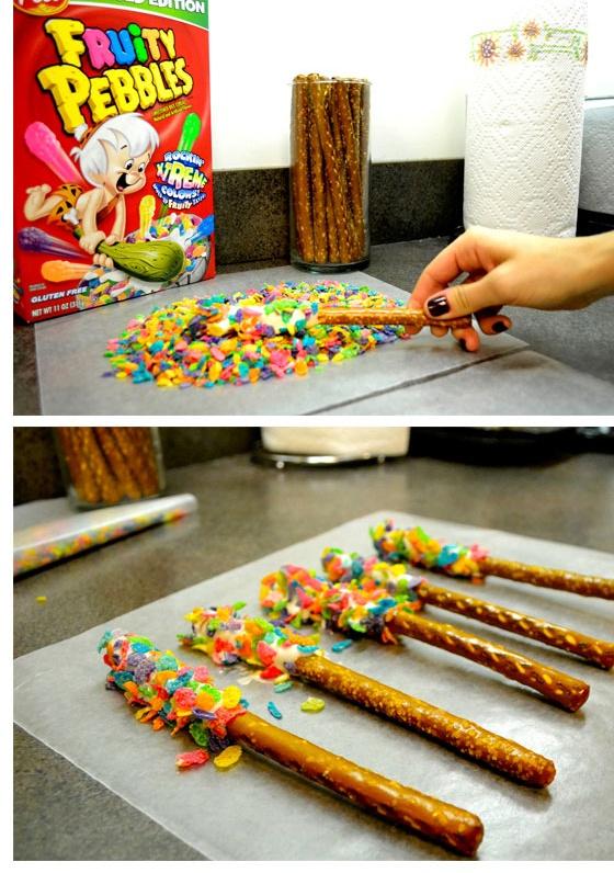 Fruity Pebble Sticks