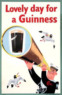 some vintage poster art.