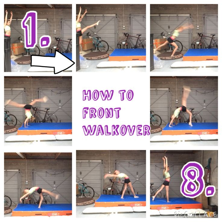 Learn to do front walkover