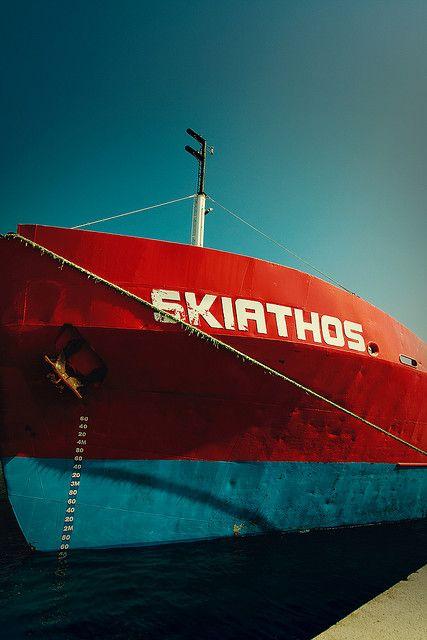 #Skiathos #Boat #Colour