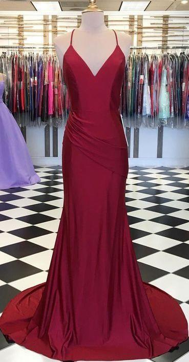 Simple Long Prom Dress 8th Graduation Dress Custom Made