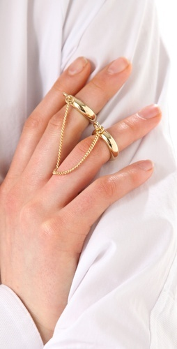 Maison Martin Margiela Chain Double Ring: Fashioni Things