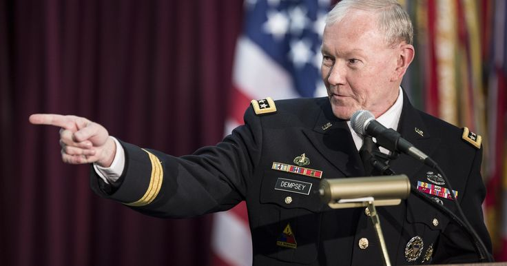 Army brass, led by future Joint Chiefs head Martin Dempsey, gave amorous general a pass