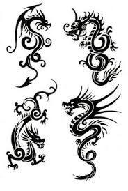 Resultado de imagen para tatuaje dragon acuatico