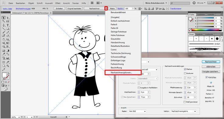 Tutorial: In Illustrator eine Vektorgrafik erstellen (2)