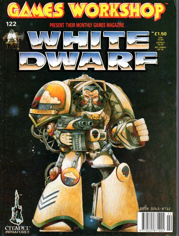 White Dwarf 122 - one of my favourite covers