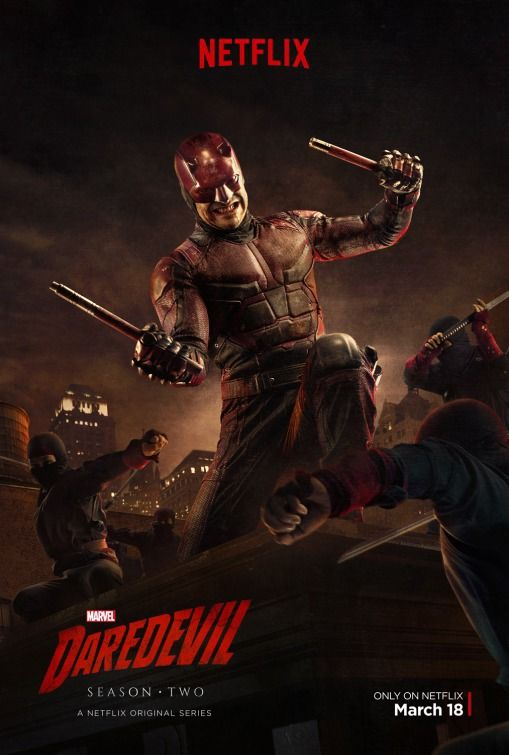 DAREDEVIL. Created by Drew Goddard.  With Charlie Cox, Vincent D'Onofrio, Deborah Ann Woll, Elden Henson. Matt Murdock, with his other senses superhumanly enhanced, fights crime as a blind lawyer by day, and vigilante by night.