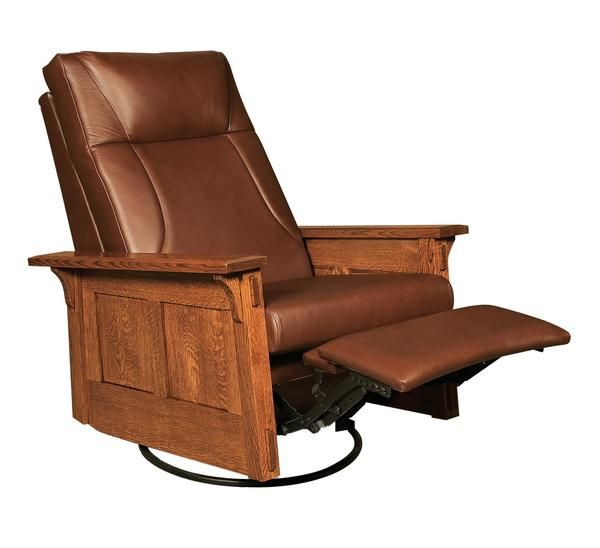 Amish Mccoy Rocker Recliner Swivel In 2019 Chair