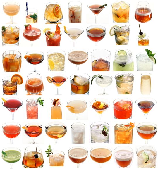 50 Cocktail Recipes from Every State by newyorkmagazine via apartmenttherapy #Cocktails #State_Cocktails