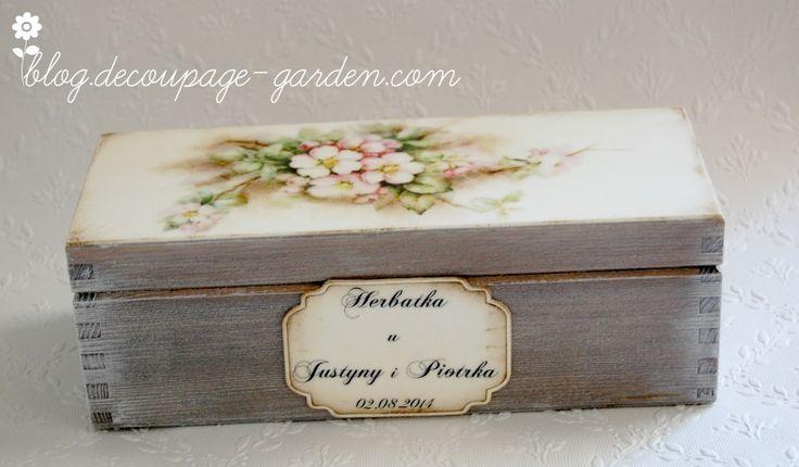 Wedding tea box