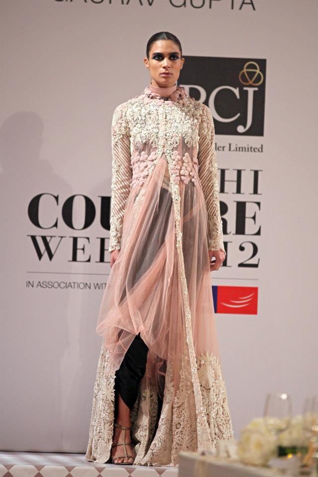 Anamika khanna Delhi Couture Week 2012