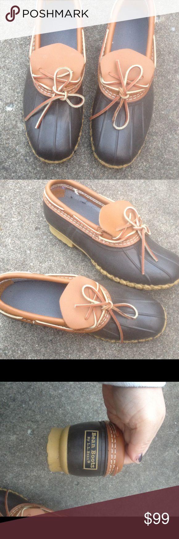 L.L. Bean Duck Bean Boots Women's 10M Mens 8 L.L. Bean Duck Bean Boots Women's 10M Mens 8. These are originally made for a men size. L.L. Bean Shoes Winter & Rain Boots