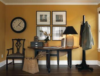 The Best Benjamin Moore Paint Colours For A North Facing Northern Exposure Room Orange Dining Pinterest Colors And