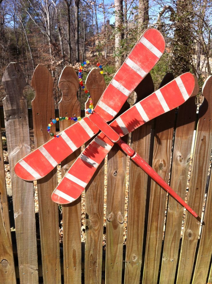 Dragonfly made from ceiling fan blades! | Art Projects ...