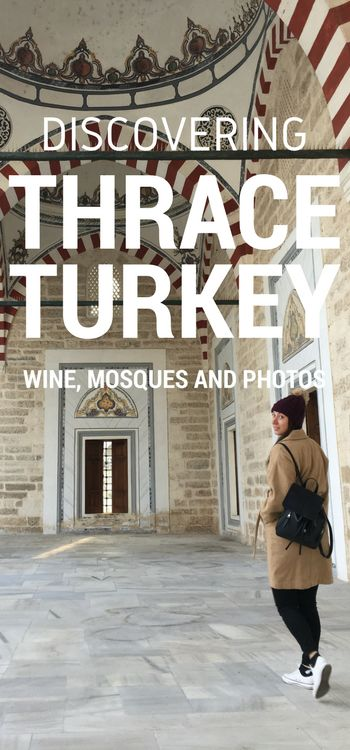 When you think of Turkey, you probably think about Istanbul, Cappadocia, Bodrum or Feithye - and for good reason, they are amazing parts of Turkey. So yes, Turkey is one of my favourite countries in the world, and even I had never heard of Thrace.