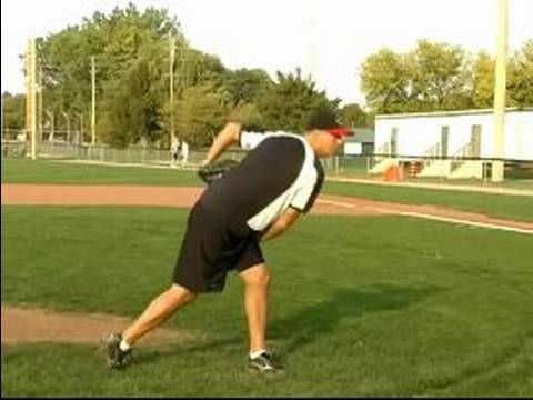 How to Pitch a Baseball : Power Position for Baseball Pitching