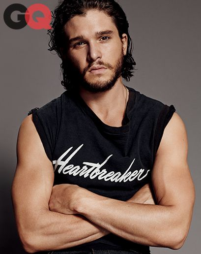 I thought I'd never even get past the picture to read the article, but then I did, and I'm even more in love. *swoon* Kit Harington on Game of Thrones Nudity and His Butt Double
