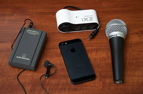 Professional-quality audio and video recordings on your iPhone. I've built an exhaustive resource on external microphones and audio input for the iPhone/iPad!