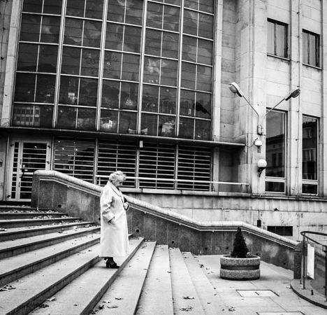 Old people, empty city. Bielsko Biala. 5/6 by Klaudia Raczek