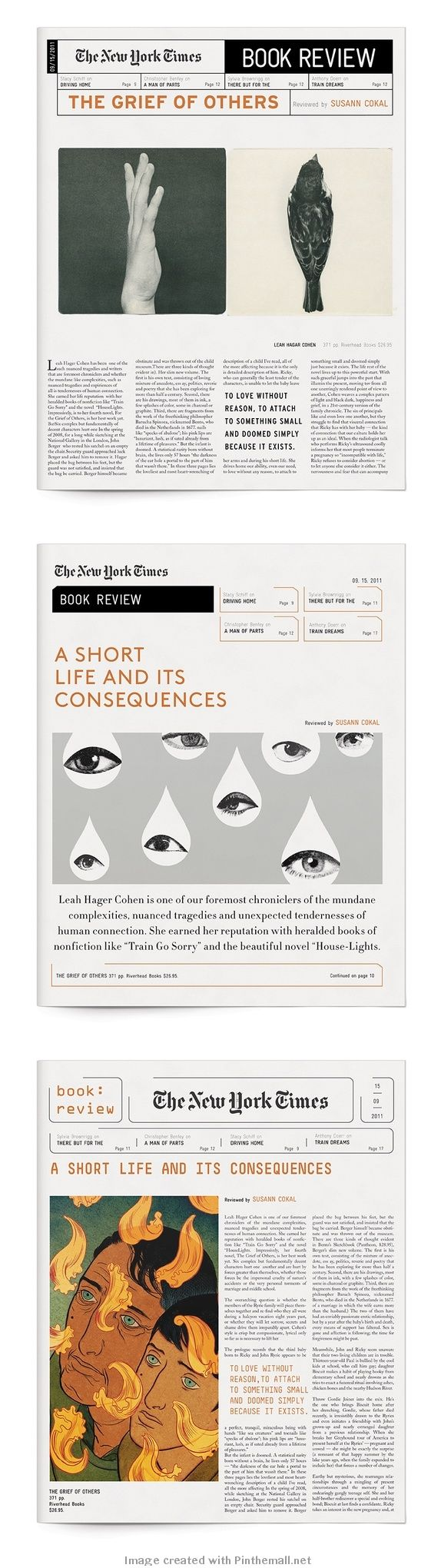New York Times Book Review | Yasmin Malki| Graphis