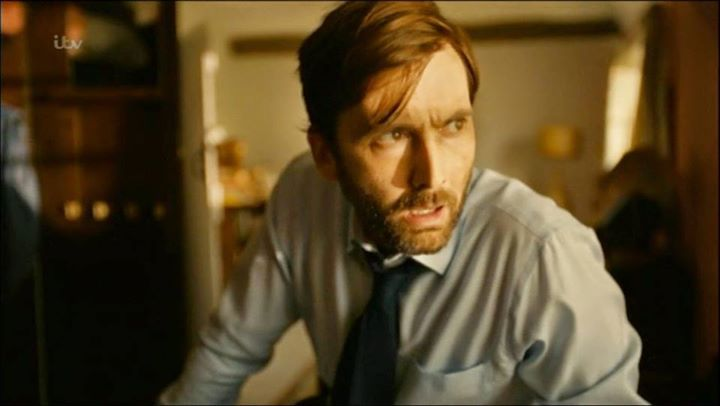 PHOTO OF THE DAY - 2nd August 2015:   David Tennant in Broadchurch series 2 (2015)