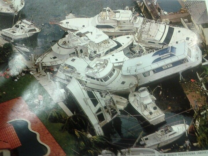 Hurricane Andrew aftermath 1992
