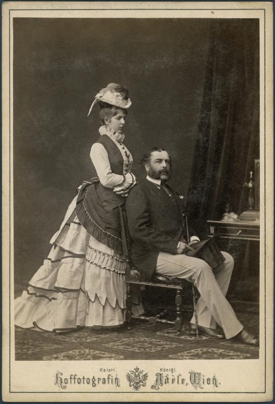Karátsonyi, Guido Graf (1817 - 1885)    Marczibányi-Puchó, Anna Maria (1831 - 1876)