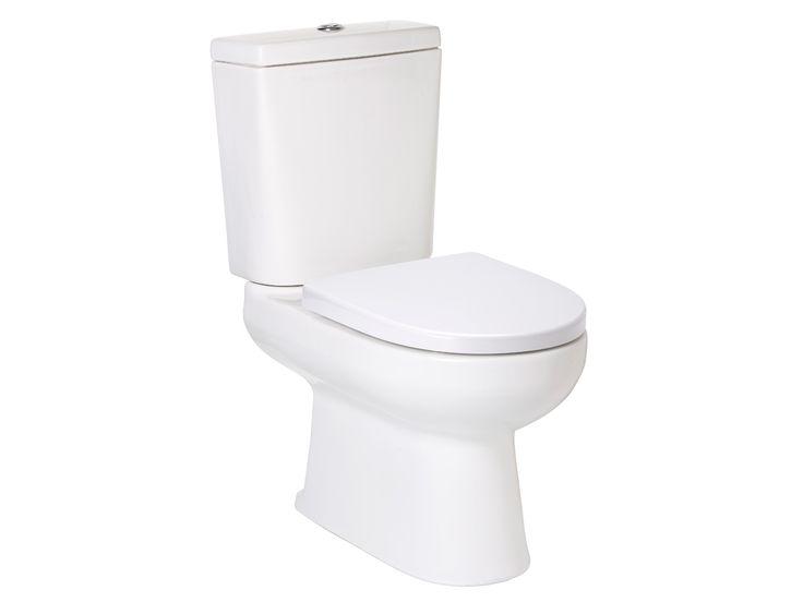 Porcher Cygnet Square Closed Coupled Toilet