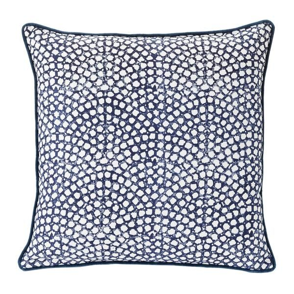Tangiers Indigo Cushion