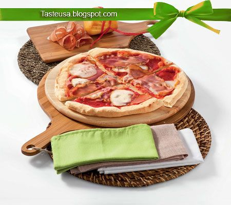 Pizza with Speck and Smoked Scamorza Cheese Recipe