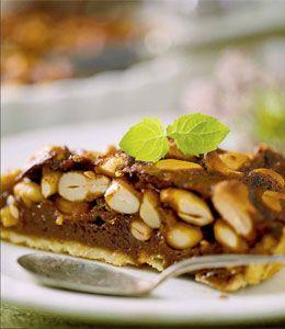 Crunchy kage med cashewnødder